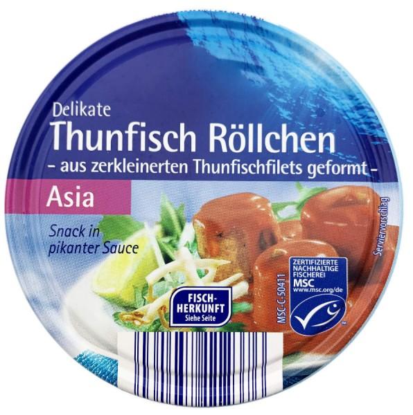Thunfisch Röllchen Snack in Asia Sauce 200