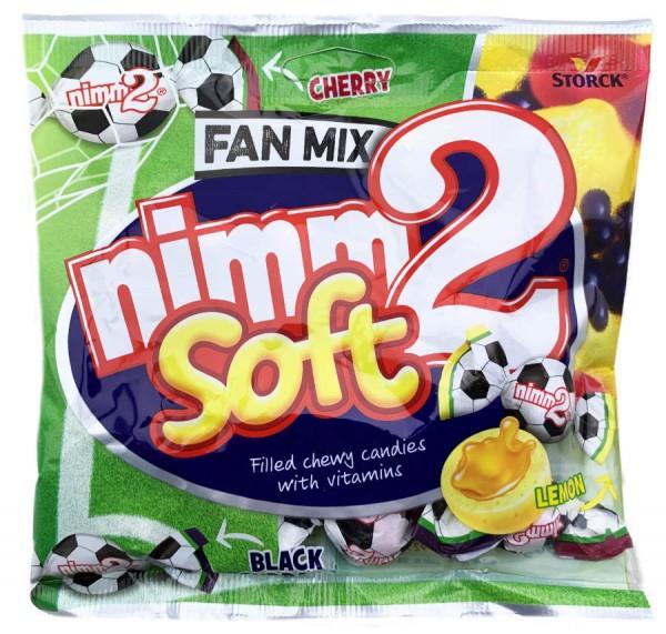 Nimm 2 Soft gefüllt mit Vitaminen und Frucht Fan Mix 90g
