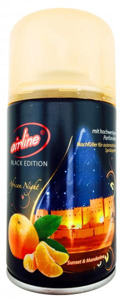 Airline Black Edition African Night Duftspray Nachfüller für Sprühgeräte