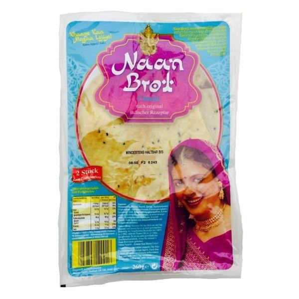 Indisches Naan Brot Klassik 260g