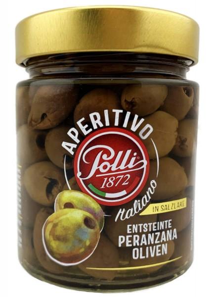 Polli Entsteinte Peranzana Oliven 130g