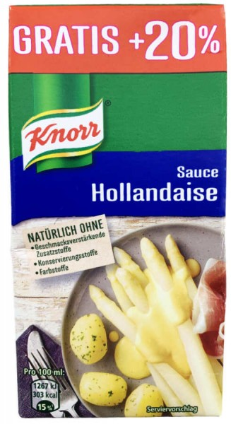 Knorr Sauce Hollandaise 300ml