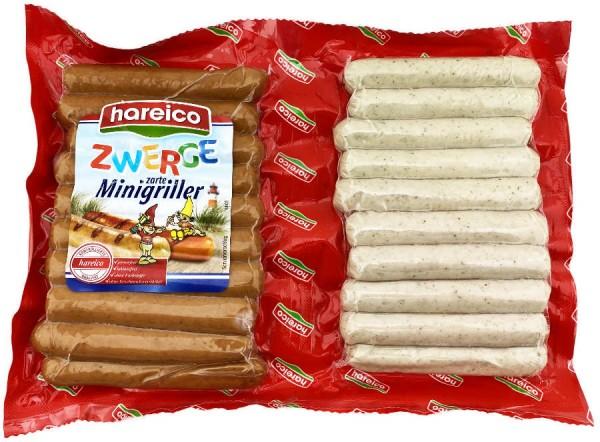 Hareico Bratwurst Zwerge zarte Minigriller 360g