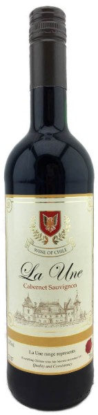 La Une Chile Cabernet Sauvignon 0,75L