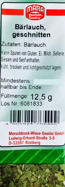 Bärlauch geschnitten 12,5gr