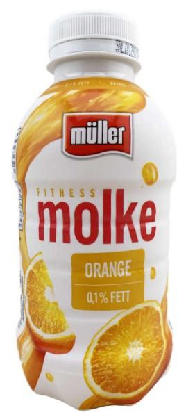 Müller Fitness Molke Orange 437ml