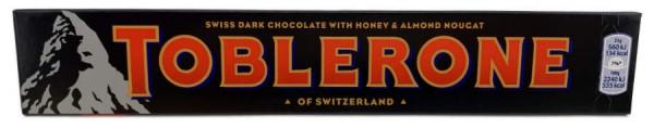 Toblerone Dark Schweizer Dunkel Schokolade 100g