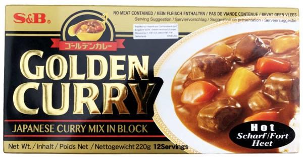 Golden Curry Japanischer Curry Mix in Würfeln 220g
