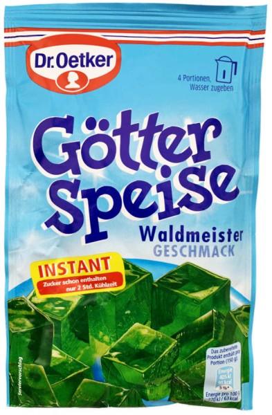 Dr. Oetker® Götterspeise Waldmeistergeschmack XL Beutel 100g