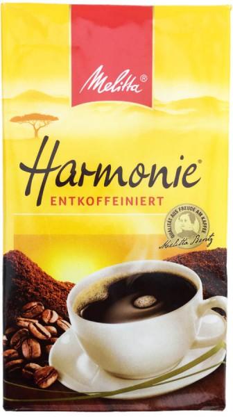 Melitta Harmonie Kaffee Entkoffeiniert 500g