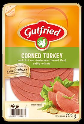 Gutfried Corned Turkey Aufschnitt 100g