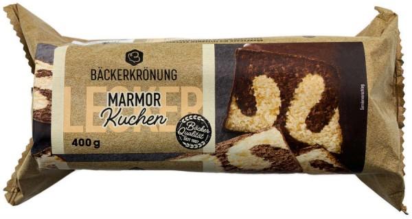 Bäckerkrönung Marmor Kuchen 400g