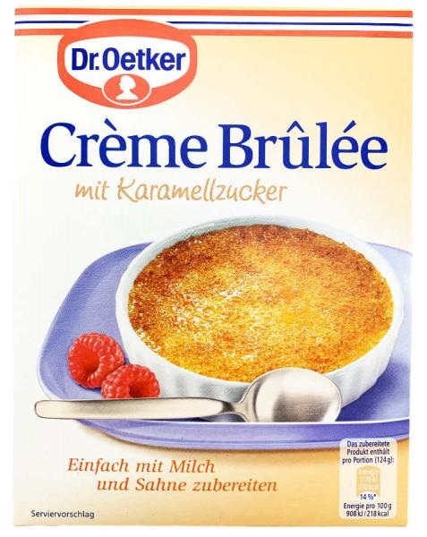 Dr. Oetker® Creme Brulee mit Karamellzucker 96g