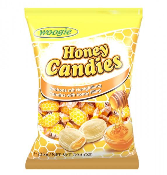 Woogie Honey Candies 225g