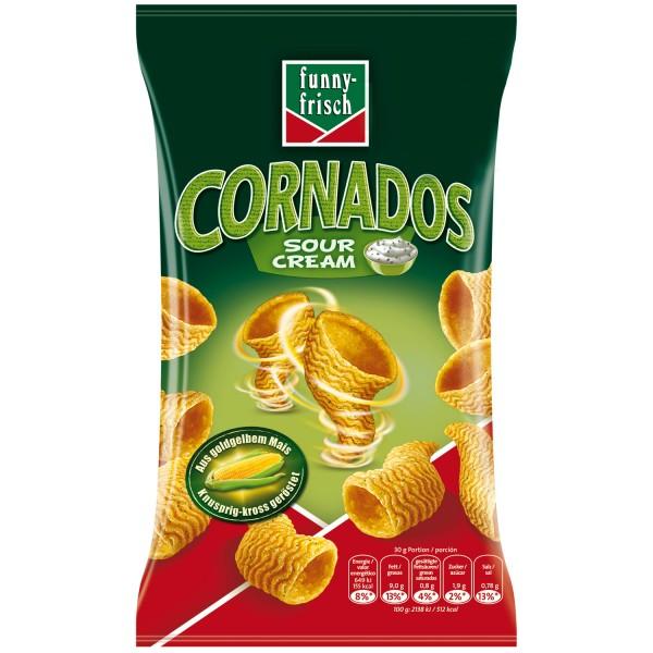 Funny-Frisch Cornados Sour Cream Neu mit Mais 80gr