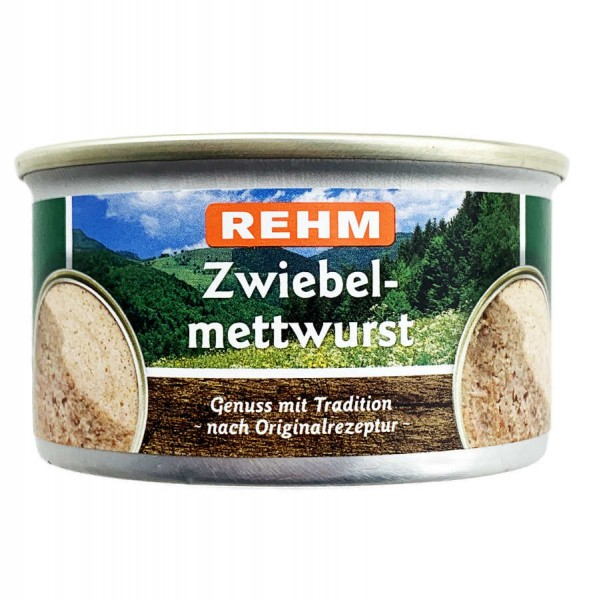 Rehm Zwiebelmettwurst 125g