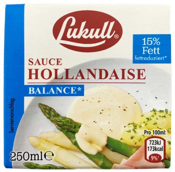 Lukull Sauce Hollandaise Balance 250ml