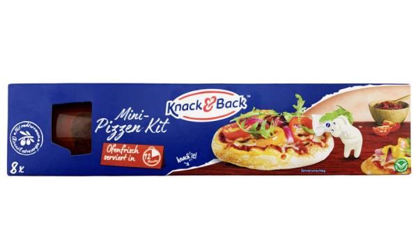 Knack und Back Mini Pizza Kit 540g