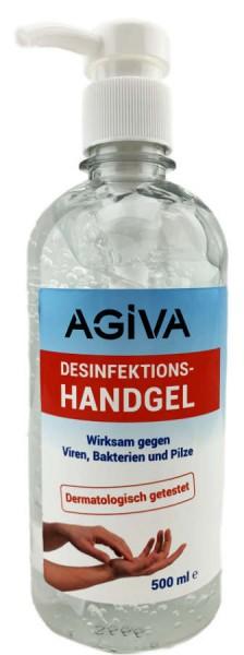 Agiva Desinfektions Handgel gegen Viren 500ml