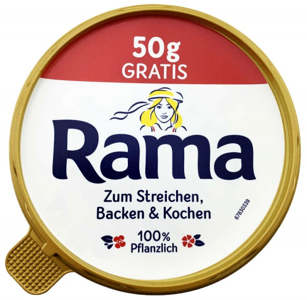 Rama Margarine 550g XL 50g Gratis