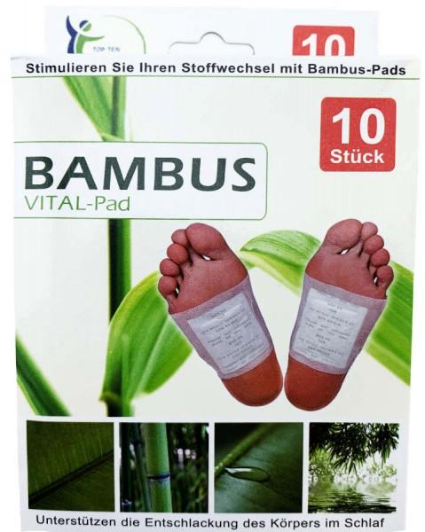 Bambus Vital Pad 10 Stück