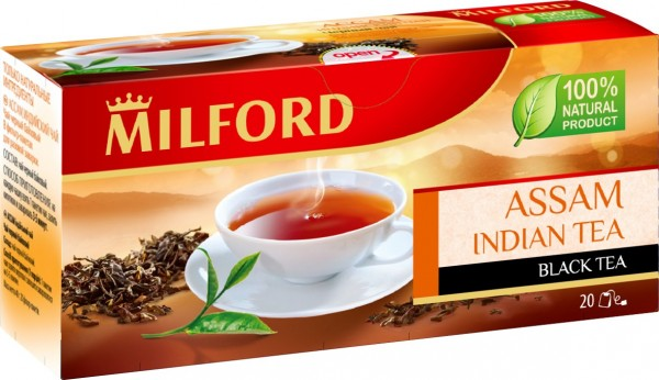 Milford Schwarzer Tee Assam 20er