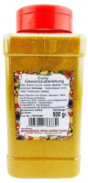 Curry Gewürzzubereitung Großpackung 500g