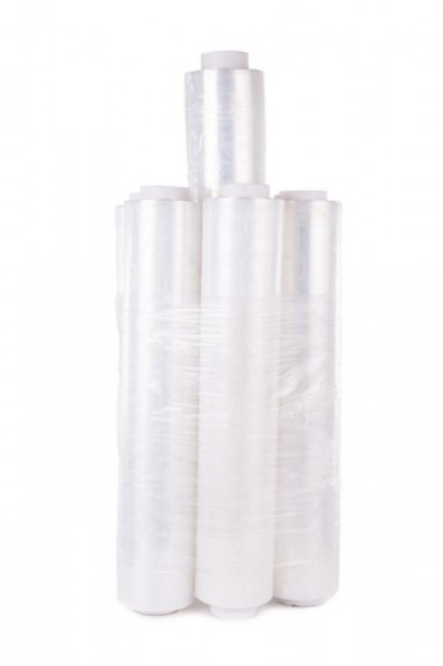 Polyethylen Palettenfolie Strechfolie 45cm 20my 300m