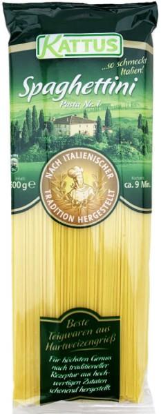 Kattus Spaghettini Pasta Nr 1 500g