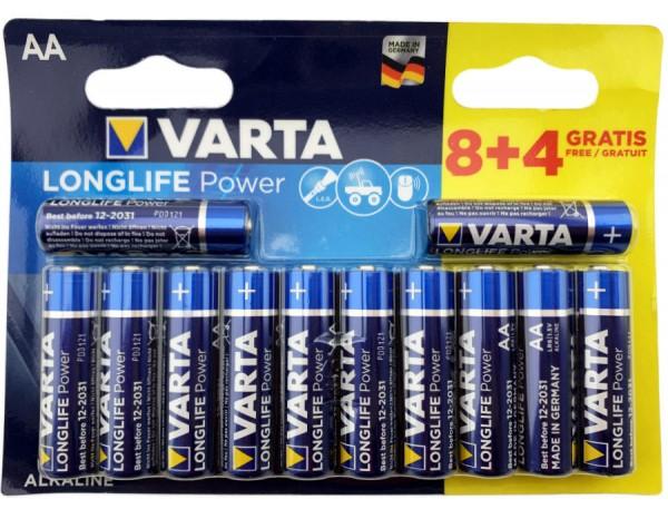 Varta Batterien AA 12er