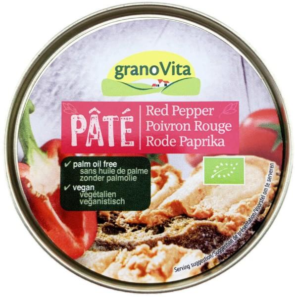 GranoVita Pastete Rote Paprika 125g