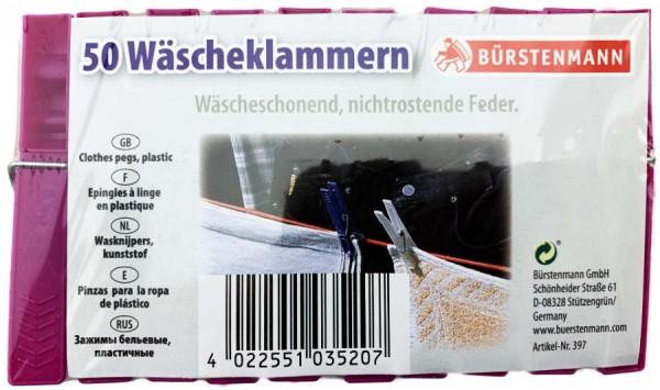 Wäscheklammern rostfrei 50er