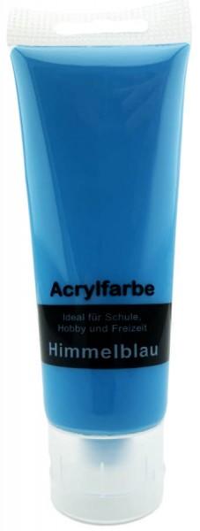 Acrylfarbe Himmelblau 75ml