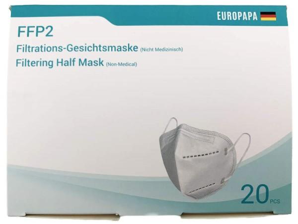 FFP 2 Mundschutz Masken 20er Karton