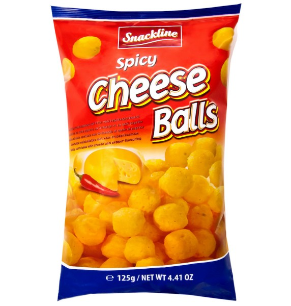 Spicy Cheese Balls 125g