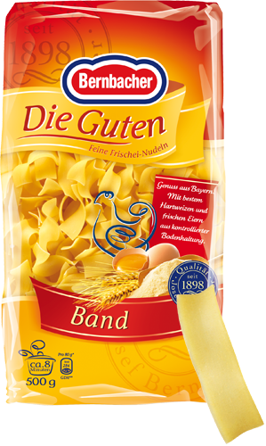 Bernbacher Die Guten Nudeln Band 500gr