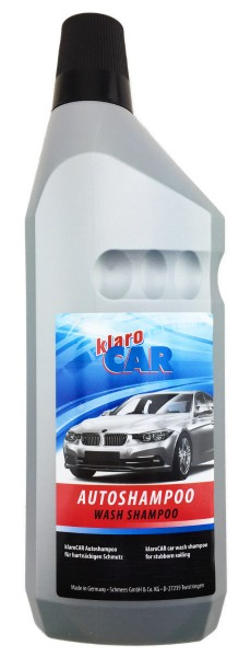 klaro car autoshampoo wasch und wachs 1000ml ebay. Black Bedroom Furniture Sets. Home Design Ideas