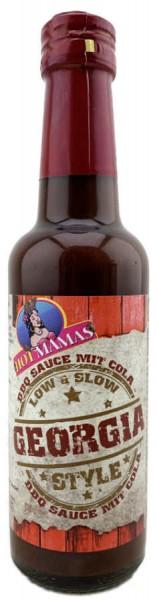Hot Mamas BBQ Sauce mit Cola Georgia Style 240ml