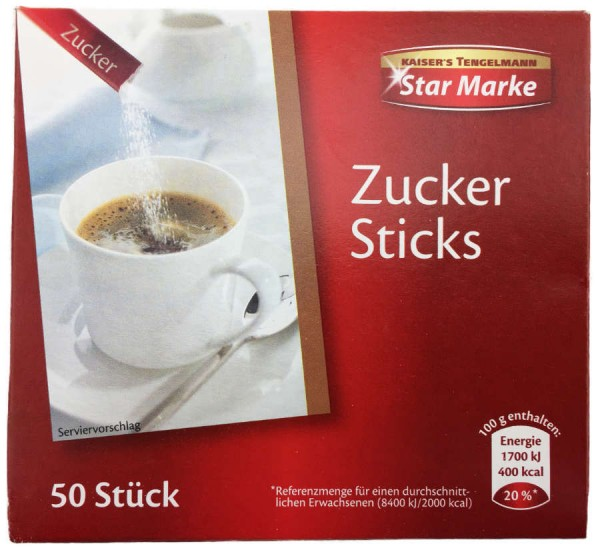 Tengelmann Zuckersticks 250g