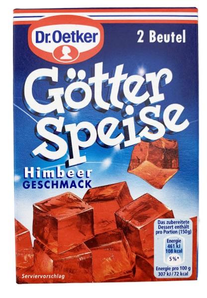 Dr. Oetker® Götterspeise Himbeergeschmack 2 Beutel 23,4g