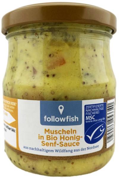 Muscheln in Bio Honig-Senf Sauce aus nachhaltigem Wildfang 200g