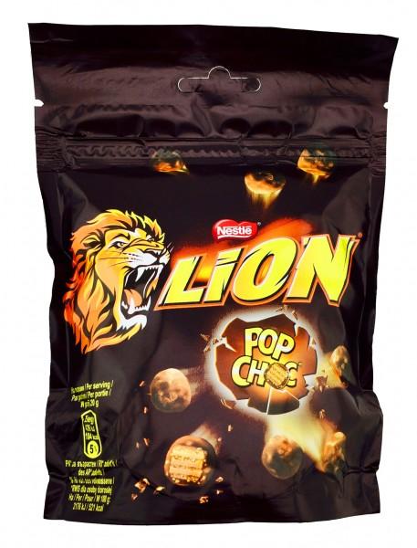 Lion Cereals Pop Choc 140gr Schokoladenkonfekt