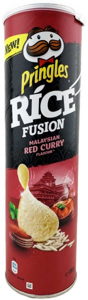 Pringles Rice Fusion Malaysian Red Curry 180g