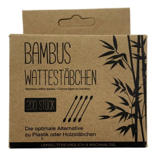 Bambus Wattestäbchen 200er