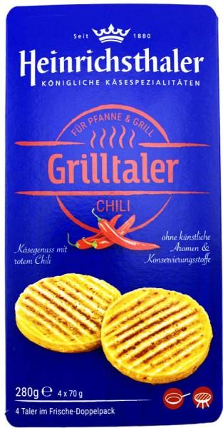 Heinrichsthaler Grilltaler Chili mit Käse 4 Stück 280g