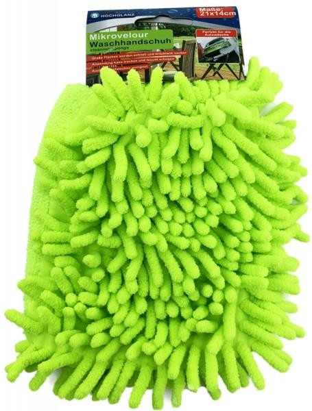 Microfaser Waschhandschuh