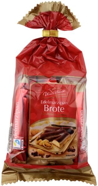 Schluckwerder Edelmarzipan Brote in Zartbitterschokolade 200g