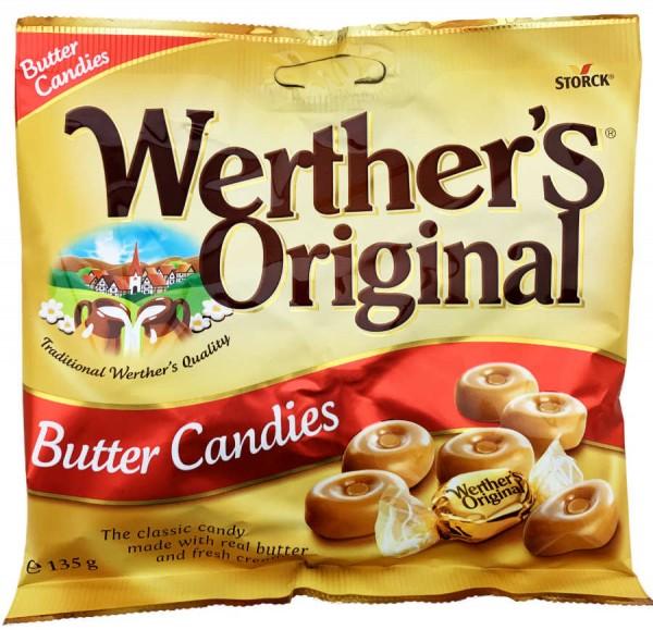 Werthers original Sahnebonbons 135g
