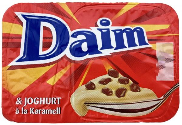 Müller Cremiger Joghurt mit Daim Karamell Stückchen 120g