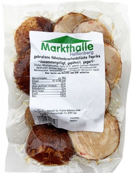 Markthallen Hähnchenbrust Endstücke ca 450g